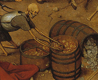 Detail from 'The Triumph of Death' H. Bosch